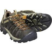 KEEN Voyageur Zapatillas de senderismo para hombre, Black Olive/Inca Gold, 17 M US