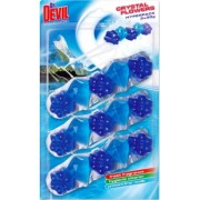 Odorizant WC 3 in 1 Crystal Flowers Polar Aqua 3 x 30 g Dr. Devil