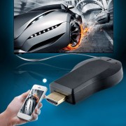 EY HD 1080P Anycast M2 Plus Wifi Pantalla Dongle Receptor DLNA Fácil Compartiendo Negro.