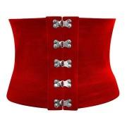 Curea lata Butterfly corset rosu