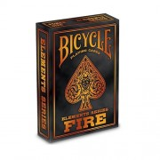 Bicycle Fire Playing Cards Elements Series Limited Edition Poker Deck
