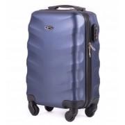 Mała walizka kabinowa podręczna XS 27L STL 402 ABS - CIEMNY NIEBIESKI