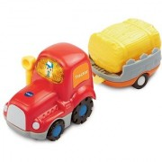VTech Go! Go! Smart Wheels Tractor & Trailer Playset