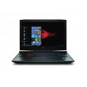 """HP Omen 17-an116nm i7-8750H/17.3""""FHD AG IPS 120Hz/16GB/256GB+1TB/GTX 1070 8GB/FreeDOS/3Y(4UD84EA)"""