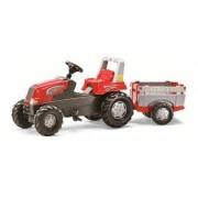 Rolly toys Junior Farm Traktor na pedale sa prikolicom