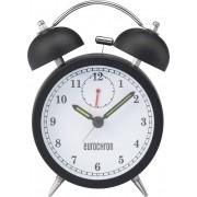 Ceas desteptator cu cuart Eurochron EQWG 50, negru