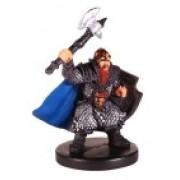 D & D Minis: Tordek, Dwarf Fighter # 13 Harbinger