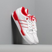 adidas Rivalry Low Ftw White/ Ftw White/ Scarlet