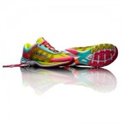 Salming Distance 3 Women, pink glo/turquoise, Salming Sports