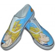 F-Gali The Dragon Ball Z Low Top Canvas Shoes Canvas Shoes For Women(Multicolor)