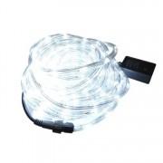 Instalatie Tip Furtun Luminos LED pentru Craciun, Lumina Alba, Exterior Interior, Lungime 10m, 200 LED-uri