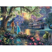 Ceaco Thomas Kinkade Disney Princess Collection The Princess & The Frog Puzzle (300 Piece)