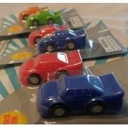 Mini Racers Pull Back Action by ToySmith Bundle of 6 mini racer cars. 2 in each pack