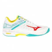 Mizuno Wave Exceed Tour 4 AC Tennisschoenen Dames - wit