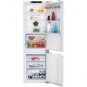 Combina frigorifica Beko HS COOL-congelator. BCNA275K3SN , Clasa A , No-Frost