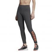 Adidas Performance Leggings Essentials linear, cós elásticocinza-escuro mesclado- XL