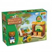 Maximilian Families, Maci piaca építőjáték, 41 darabos