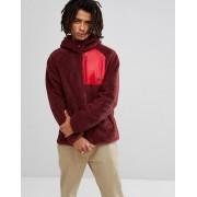Nike Красная куртка с капюшоном из искусственной цигейки Nike SB Everett 86