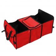 Organizator pliabil pentru portbagaj RoGroup, 60 x 20 x 30 cm, compartiment termoizolant
