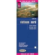 Wegenkaart - landkaart Noord Vietnam | Reise Know-How Verlag