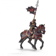 Schleich Dragon Knight Action Figure on Horse with Lance