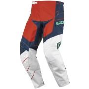 Scott 350 Race Motocross Pants 2016 White Blue Orange 38