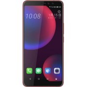 "Telefon Mobil HTC U11 Eyes, Procesor Octa-Core Snapdragon 652, Super LCD3 Capacitive Touchscreen 6"", 4GB RAM, 64GB Flash, 12MP, 4G, Wi-Fi, Dual Sim, Android (Rosu) + Cartela SIM Orange PrePay, 6 euro credit, 4 GB internet 4G, 2,000 minute nationale si int"