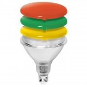 Diffuser cover green for PAR38 energy saving bulb
