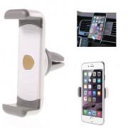 Shop4 - Universele Telefoonhouder Auto Ventilatierooster Houder Grijs Wit