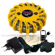 SET - výstražné LED světlo Power Flash 301L + nabíjecí sada