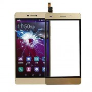 JUNXI Phone para Huawei P8 Lite Digitalizador de Panel táctil (Negro) + Alta Calidad (Color : Gold)