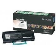 Lexmark E460X11E toner negro