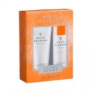 David Beckham Instinct Sport Gift Set: Deo Spray 150ml+SG 200ml