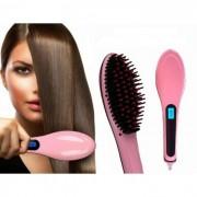 Четка за Изправяне и Сушене на Коса Fast Hair Straightener HQT-906