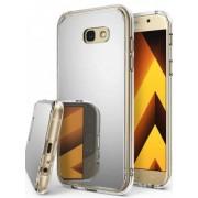Protectie spate Ringke MIRROR SILVER pentru Samsung Galaxy A5 2017 + BONUS folie protectie display Ringke (Argintiu)