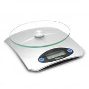 Кухненска дигитална везна SAPIR SP 1651 K, 5 кг, LCD екран, Включена батерия, Сив