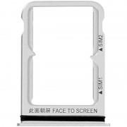 Avizar Repuesto Bandeja Tarjeta Nano SIM Plateada para Xiaomi Mi 8/8 Pro