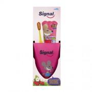 Signal Set cadou pentru dinți perfect curati pentru copii (Pastă de dinti + Periută de dinti)