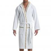 Modus Vivendi Meander Bath Towel Robe Loungewear White 11652