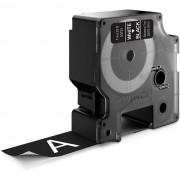 Dymo Standard D1 Tejp 24mm Vit på svart
