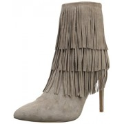 Steve Madden Women's Flappper Boot Taupe Suede 6.5 B(M) US
