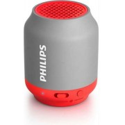 Boxa Portabila Philips BT50G, Bluetooth/Jack 3.5mm (Rosu/Gri)