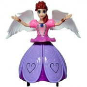 SMGIFT DANCING PRINCESS DOLL. MUSIC WITH LIGHT AND ROTATING 360 DEGREE