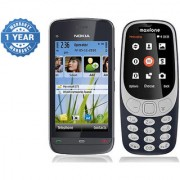 Nokia C503 and Maxfone 3310 Combo / Good Condition / Certified Pre Owned (1 Year Warranty)