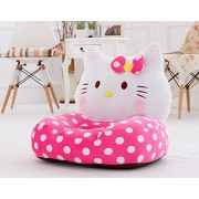 Trendy Kids Cool Plush Sofa For Kids To Have There Own Sitting Spot Anywhere In House Best Gift For Kids (Hellokitty Baby Sofa Chair)