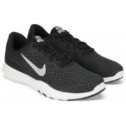 Nike W NIKE FLEX TRAINER 7 Running Shoes(Black)
