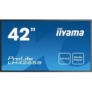 "IIYAMA prolite lh4265s-B1 107 cm (42 "") info-Display Panel Full-HD (VGA, hdmi1 backlights/2/3, HDMI Out daisychain, RS232, 6,5 MS, 18std/7), zwart"