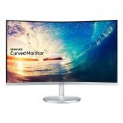 "Monitor Samsung LC27F591FDLXZX, LED, Widescreen, Full HD, 1920x1080, VGA, HDMI, D.Port, Curvo, 27"" - Blanco"