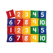 Multicolor Numbers and Dots Learning Educational Cushions