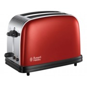 Russell Hobbs Tostadora RUSSELL HOBBS Colours Plus Red 23330-56 (1670 W) (1670 W)